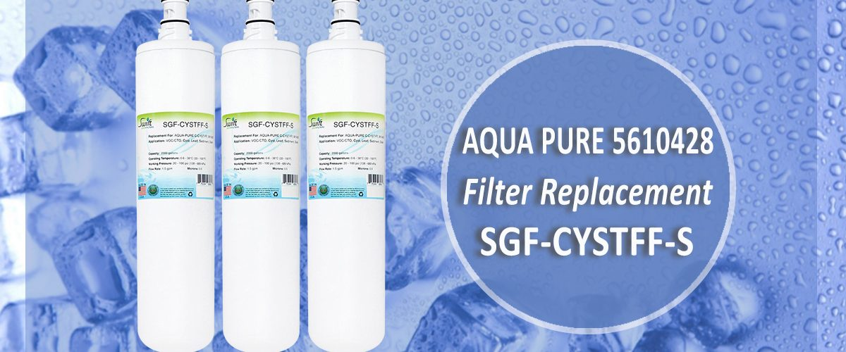 Aqua Pure 5610428 Filter Replacement SGF-CYSTFF-S by Swift Green Filters
